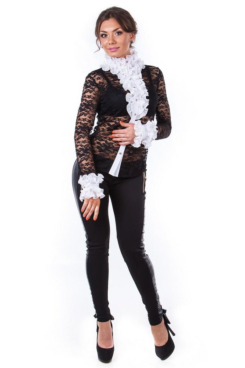 Белые блузки оптом от MODUS Блуза Абель 2205