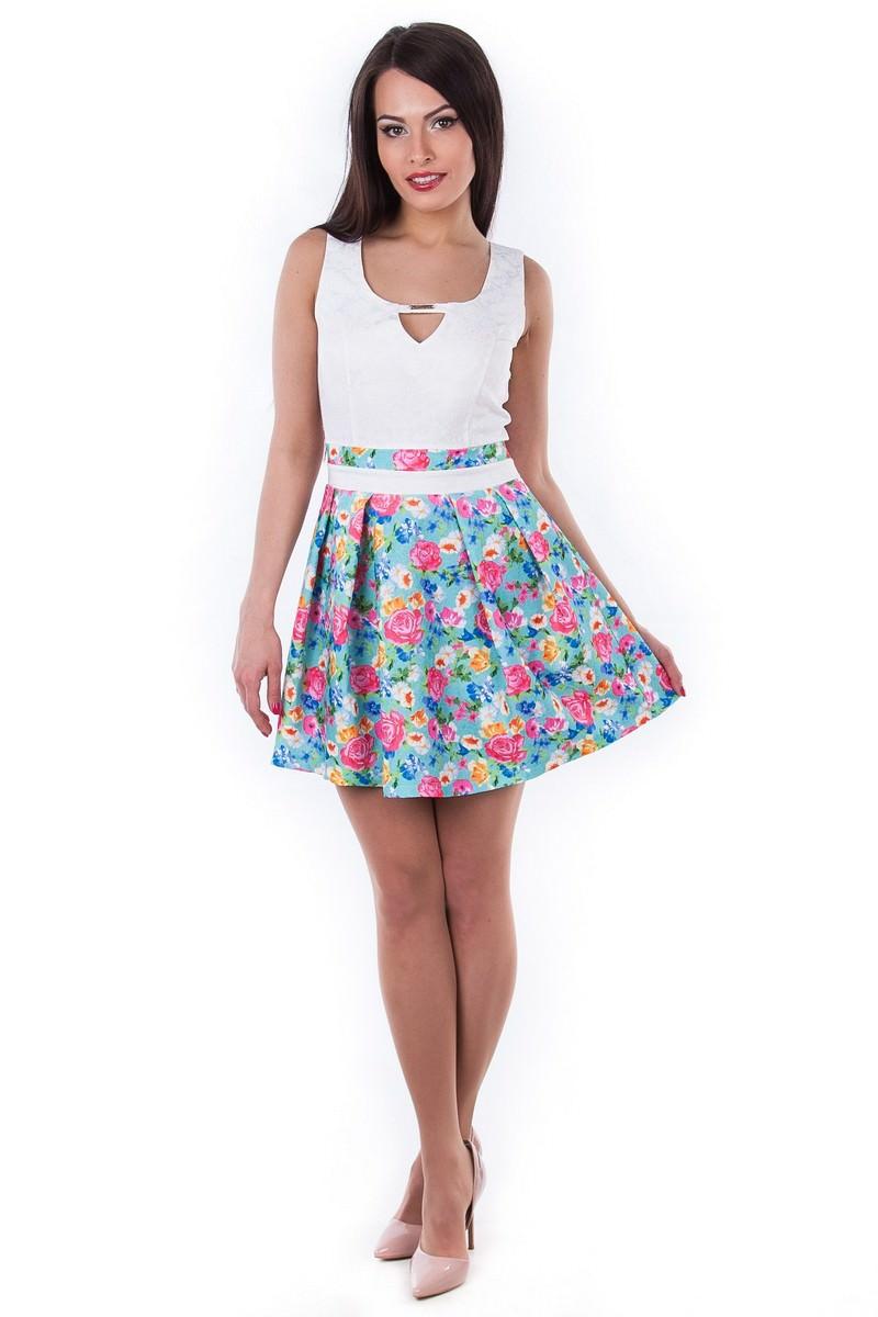 Платья трикотажные оптом от производителя Платье Джеки