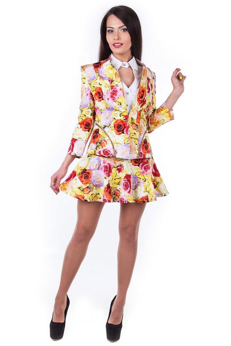 Купить женскую одежду оптом Жакет Подиум