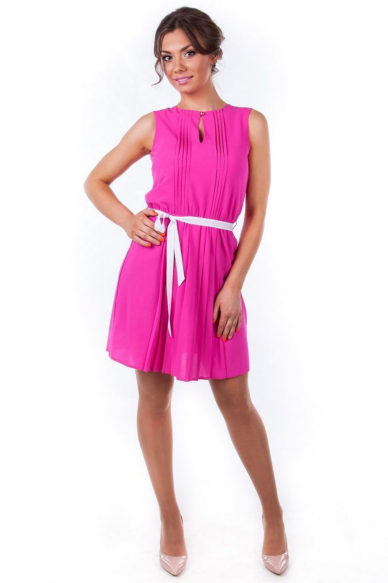 Платья трикотажные оптом от производителя Платье Мила