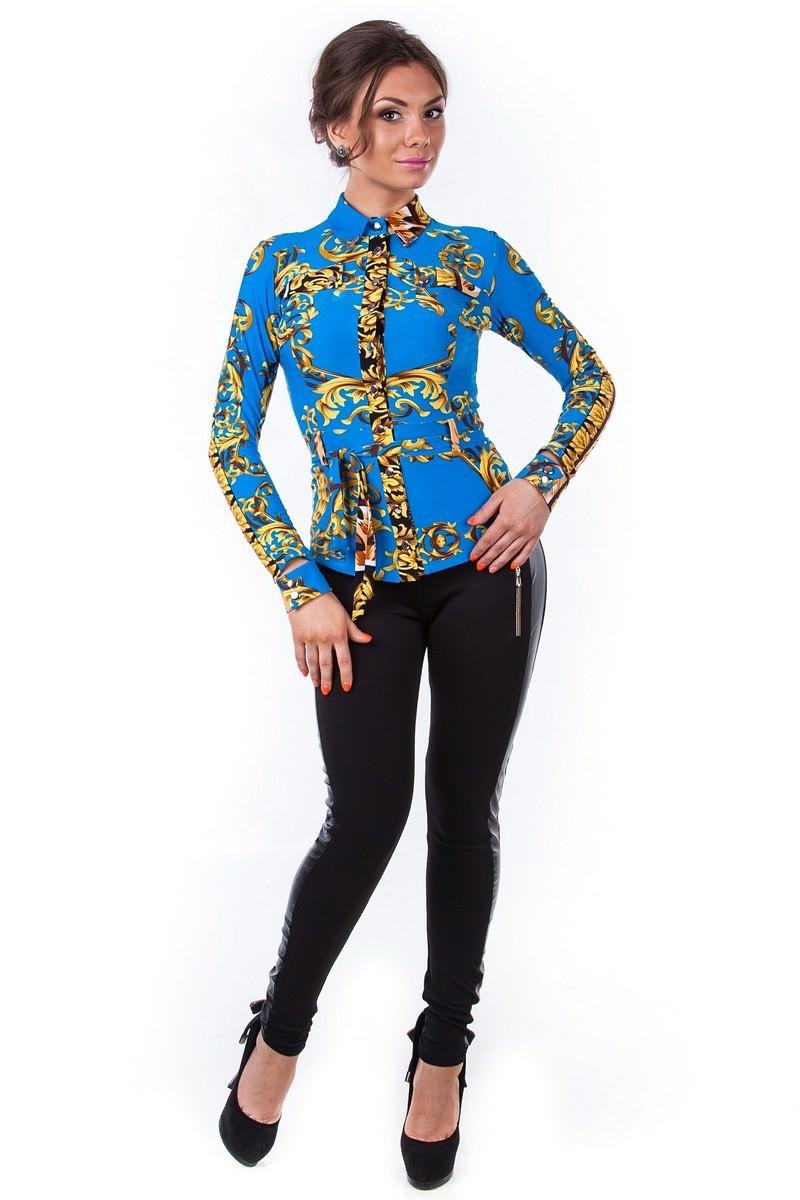 Блузки оптом от производителя Modus Блуза Пэнни длинный рукав