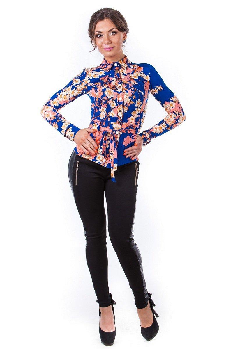 Оптовый магазин женских рубашек Modus Блуза Пэнни длинный рукав