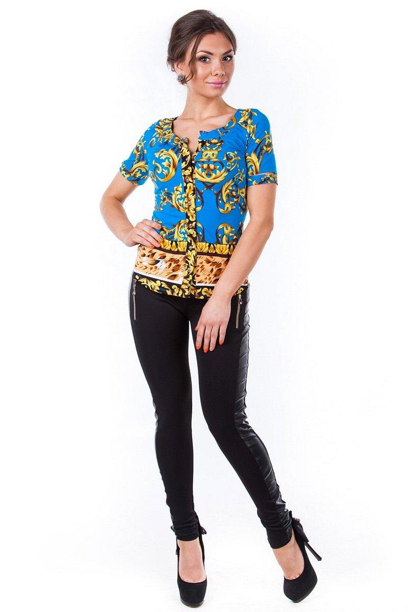 Школьные блузы оптом от производителя Блуза Рикко