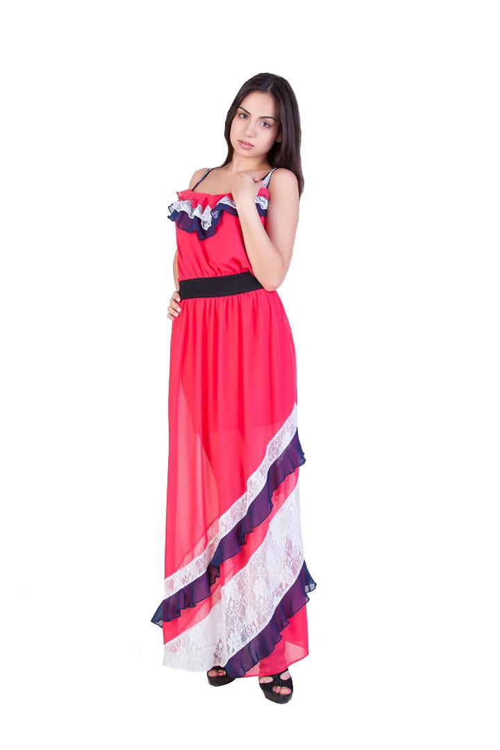 Женская одежда оптом от производителя Сарафан Вертикаль