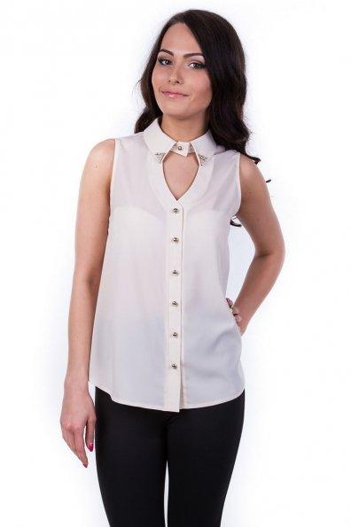Блуза Арри Цвет: Светло-бежевый