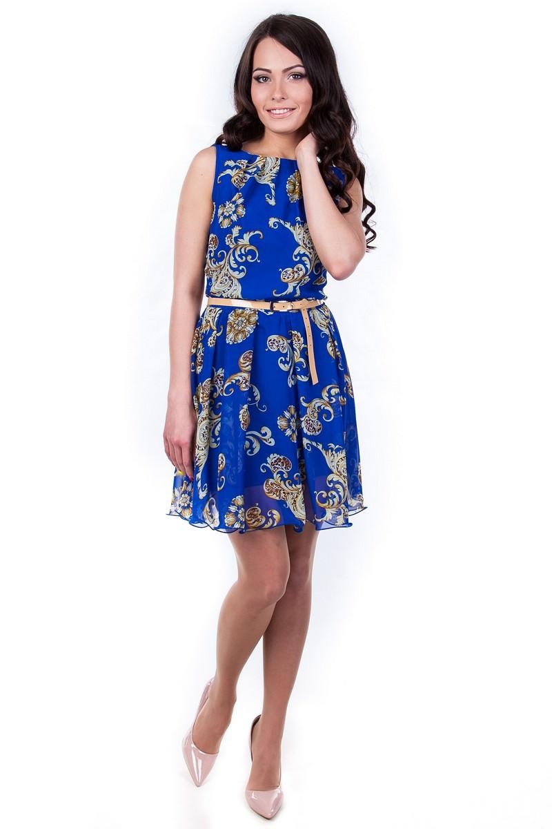 Оптом платье недорого от Modus Платья Вилена шифон принт