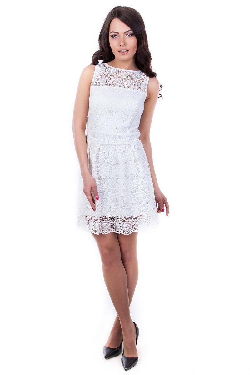 Платья трикотажные оптом от производителя Платье Жанетта