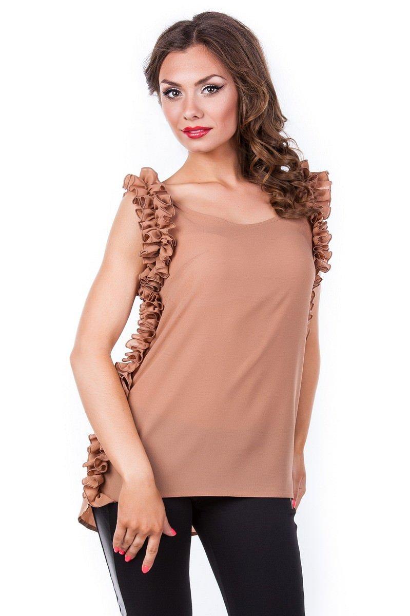 Оптом офисные блузы Modus Блуза Кенди
