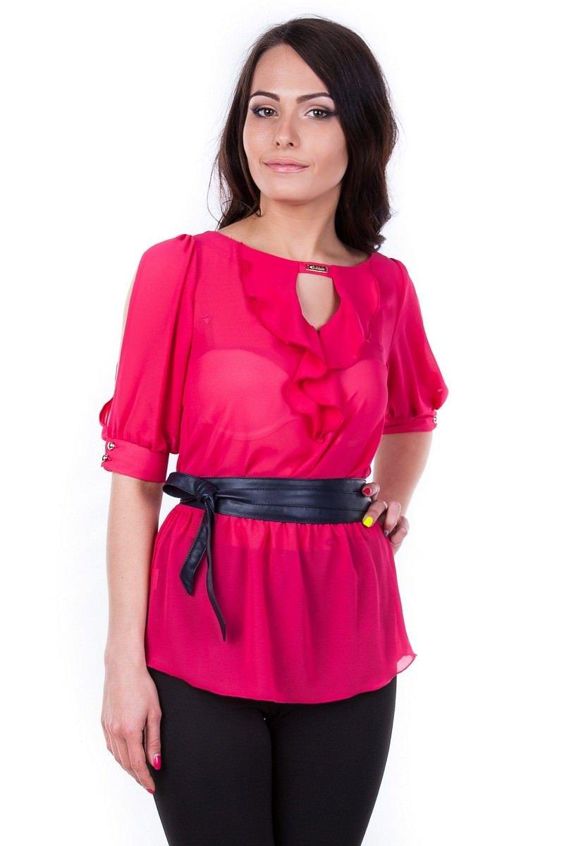 Женские блузки оптом от производителя Блуза Лена креп