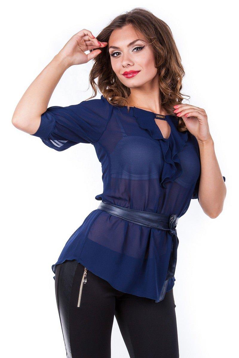 Блузки оптом от производителя Modus Блуза Лена креп
