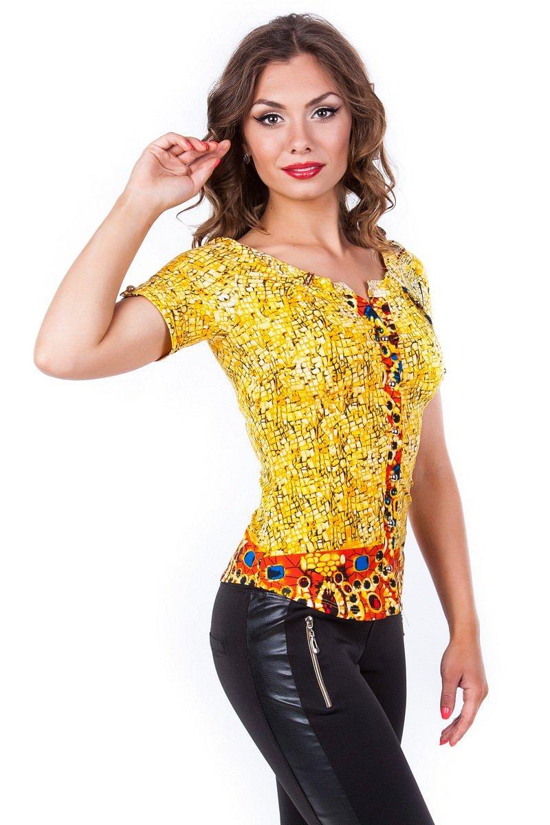 Оптом офисные блузы Modus Блуза Рикко