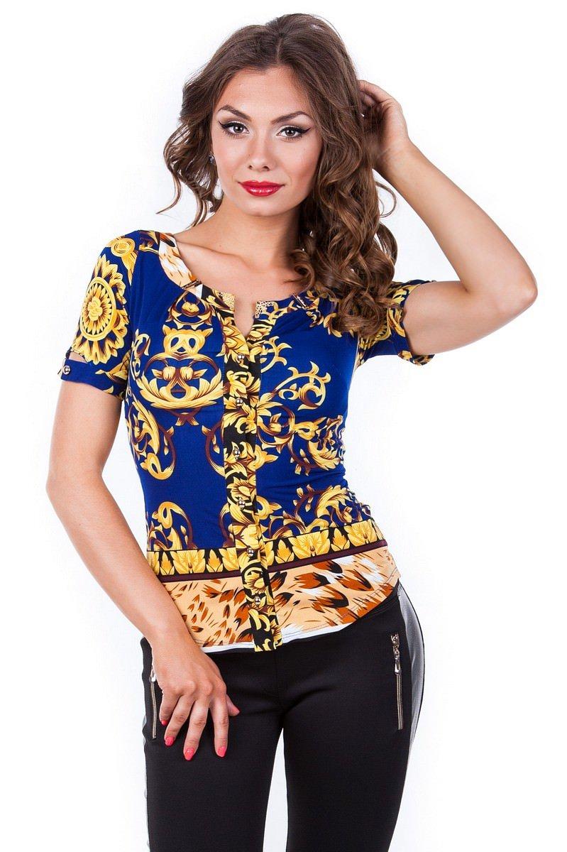 Женские рубашки оптом от Modus Блуза Рикко
