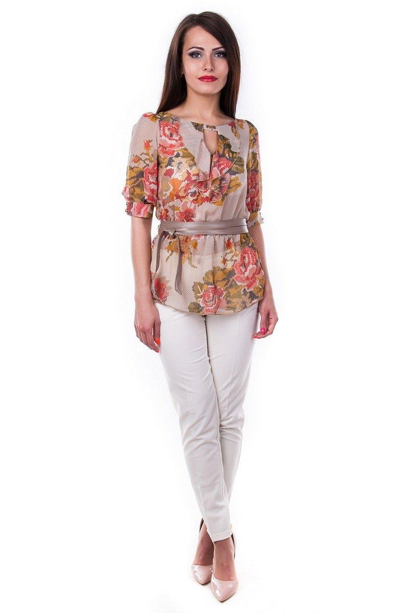 Блузки оптом от производителя Modus Блуза Лена шифон