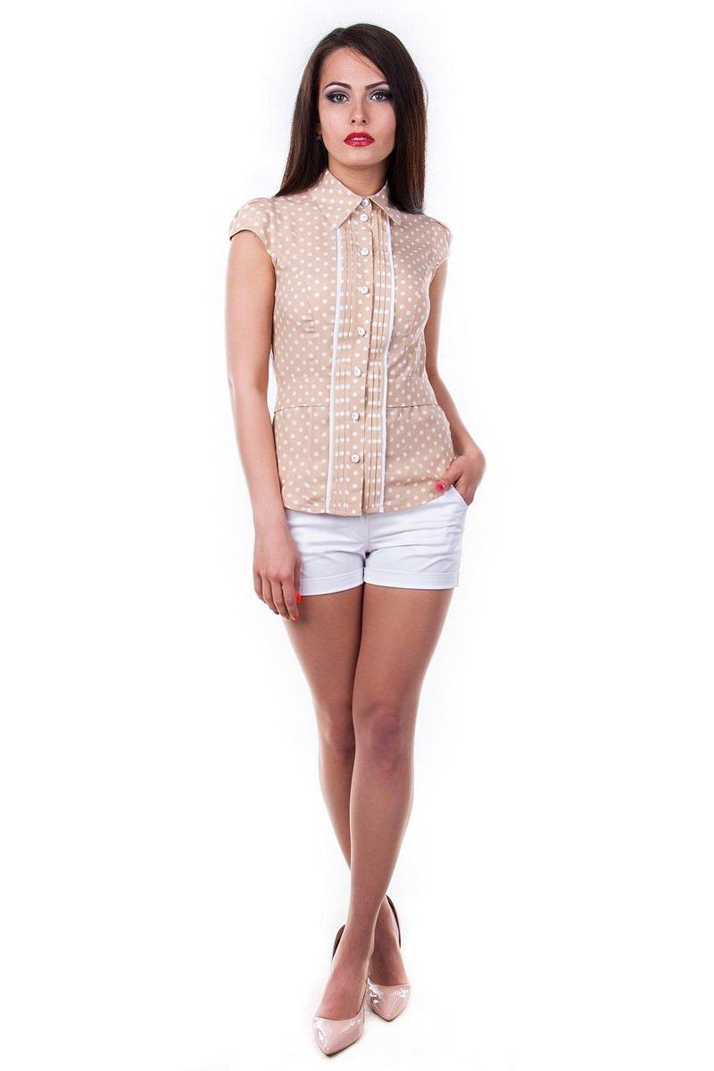 Оптом офисные блузы Modus Блуза Прелесть