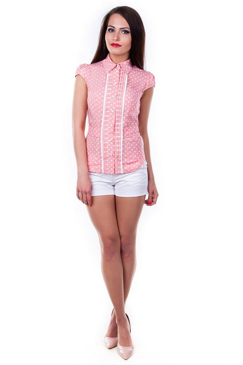 Оптовый магазин женских рубашек Modus Блуза Прелесть