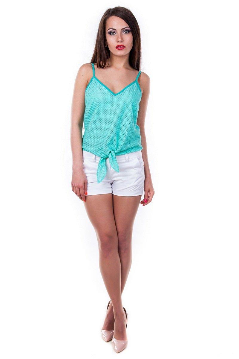 Оптом офисные блузы Modus Блуза-топ Лайза соты