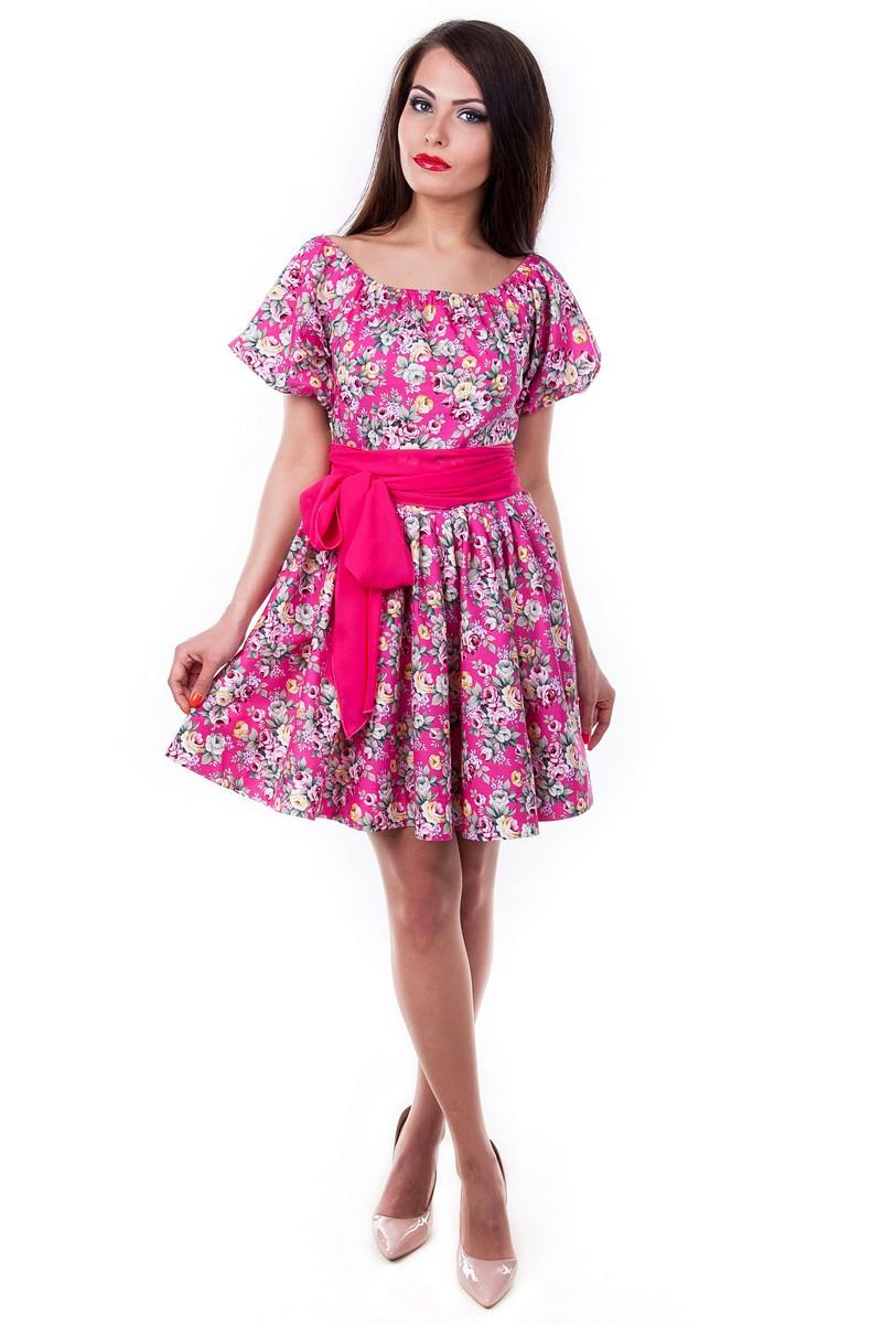 Купить женское трикотажное платье оптом Платье Таша