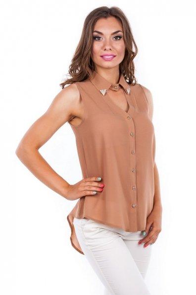 Блуза Арри Цвет: Мокко