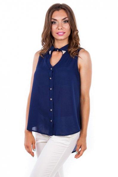 Блуза Арри Цвет: Темно-синий