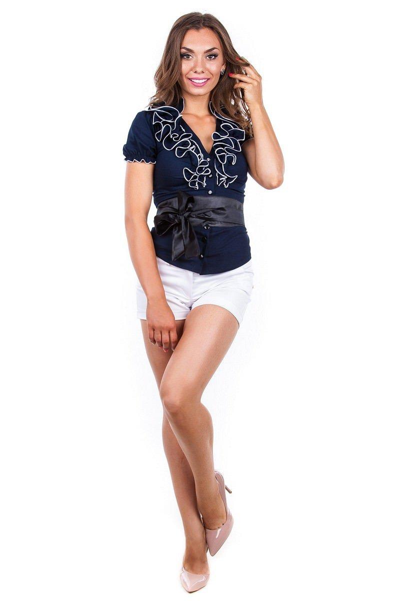 Школьные блузы оптом от производителя Блуза Лола бенг