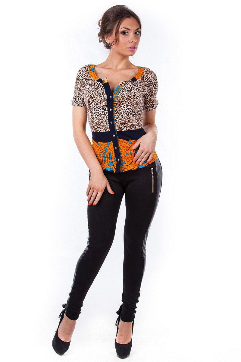Женские блузки оптом от производителя Блуза Рикко