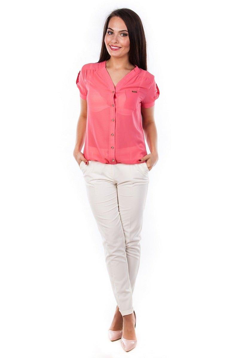 Блузки оптом от производителя Modus Блуза Кумир креп короткий рукав