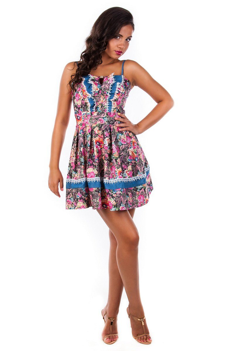 Женская одежда оптом от производителя Сарафан Мон-Ами