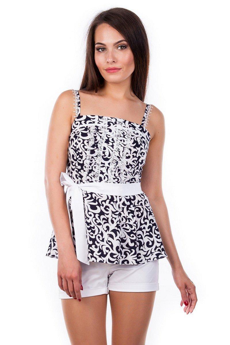 Купить в Украине рубашки женские от производителя Блуза-топ Шарлиз 2505