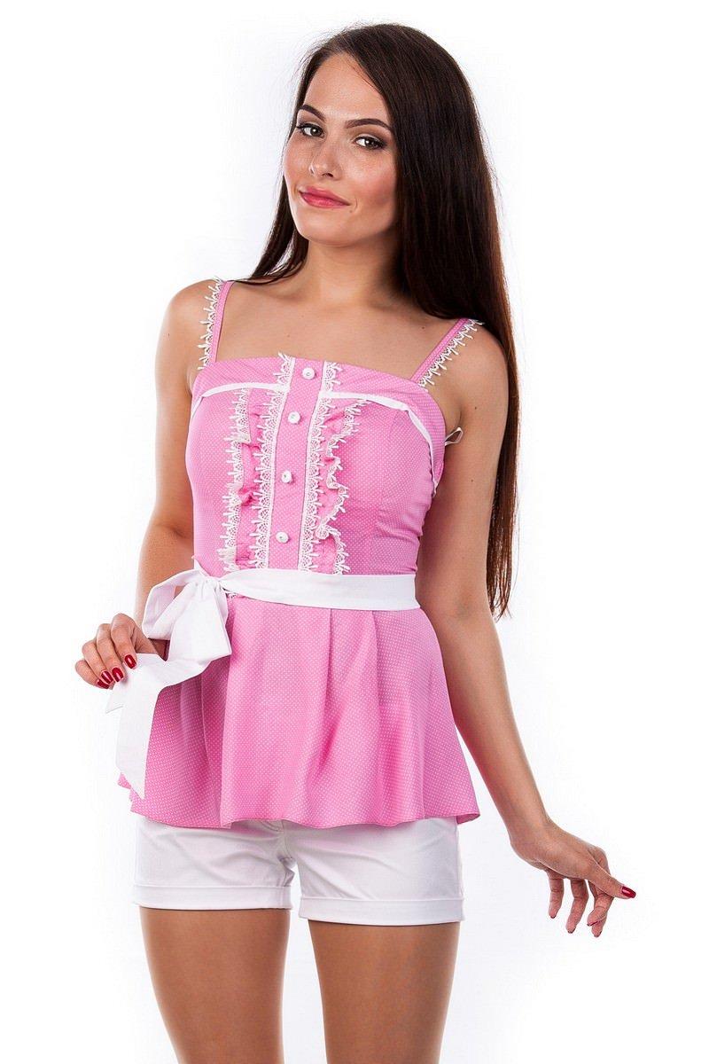 Школьные блузы оптом от производителя Блуза-топ Шарлиз