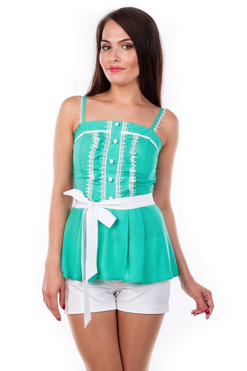 Оптом офисные блузы Modus Блуза-топ Шарлиз 2505