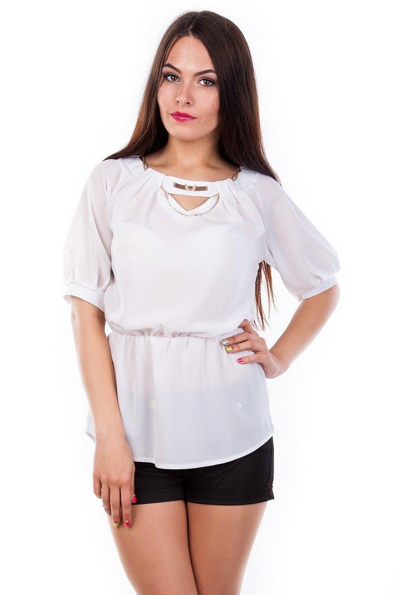 Белые блузки оптом от MODUS Блуза Woman