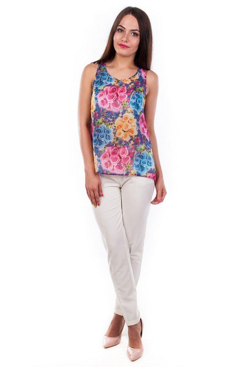 Белые блузки оптом от MODUS Блуза-топ Дельта