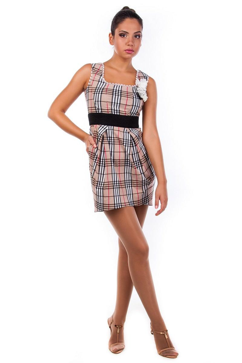 Оптом платье недорого от Modus Платье Дрим клетка
