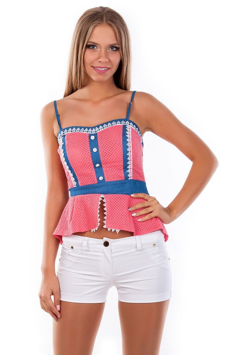 Блузки оптом от производителя Modus Блуза-топ Люсия 2563