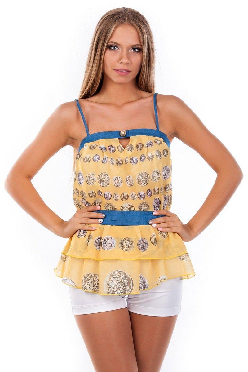 Женские блузки оптом от производителя Блуза-топ Сальма 2547