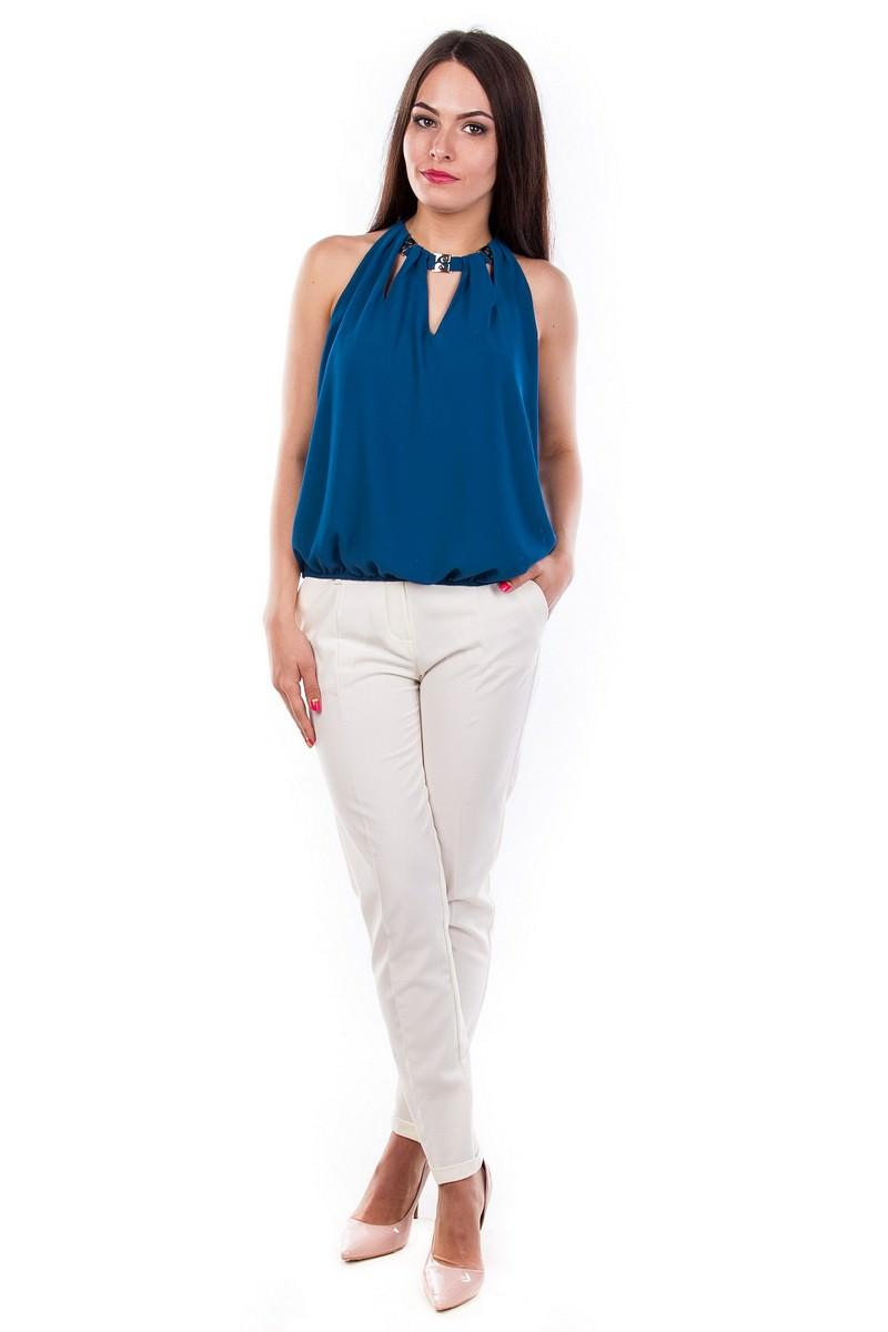Белые блузки оптом от MODUS Блуза-топ Саммер