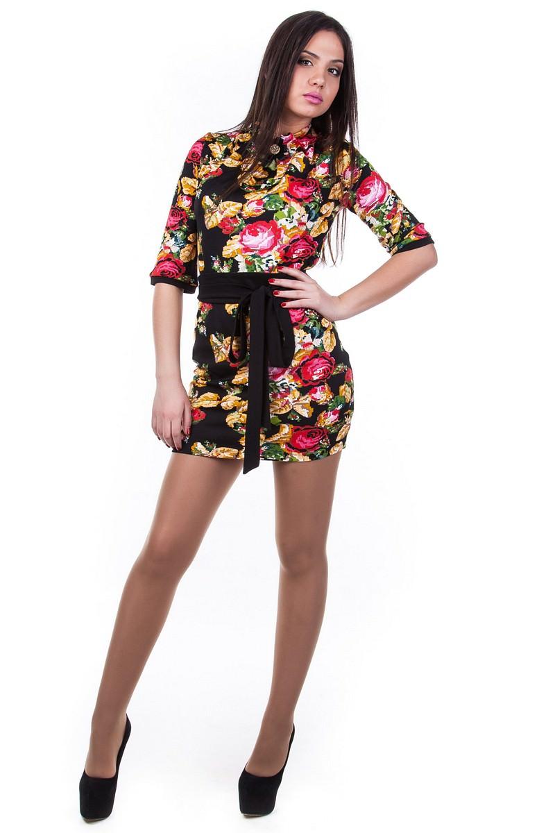 Оптом платье недорого от Modus Платье Элегия вышивка