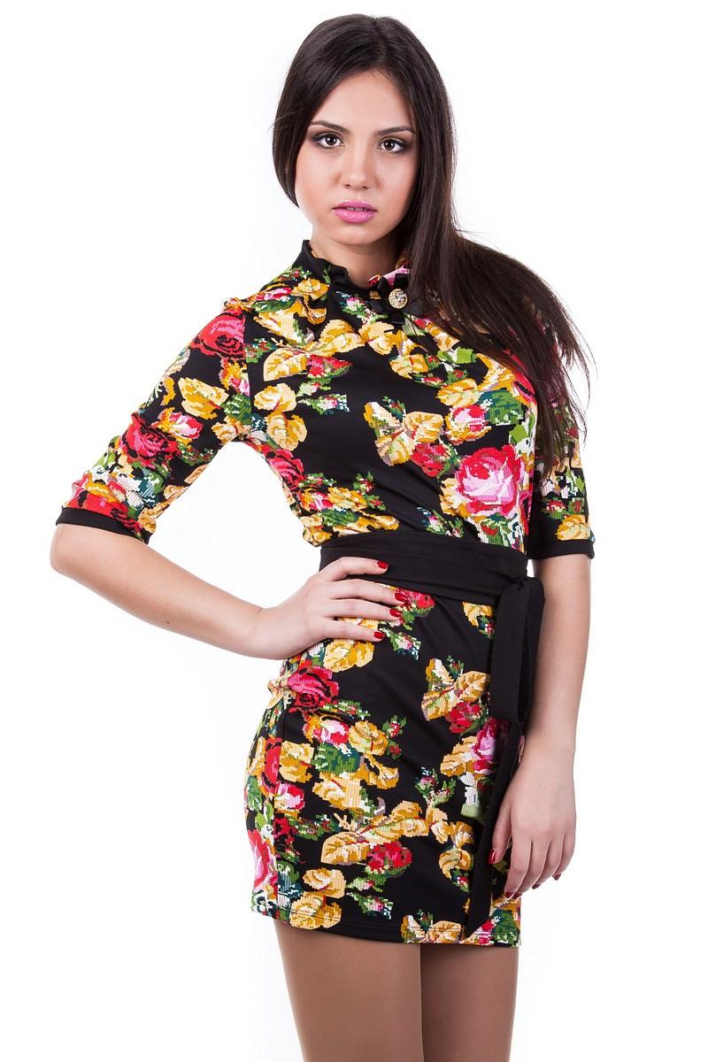 Платье «Элегия вышивка»
