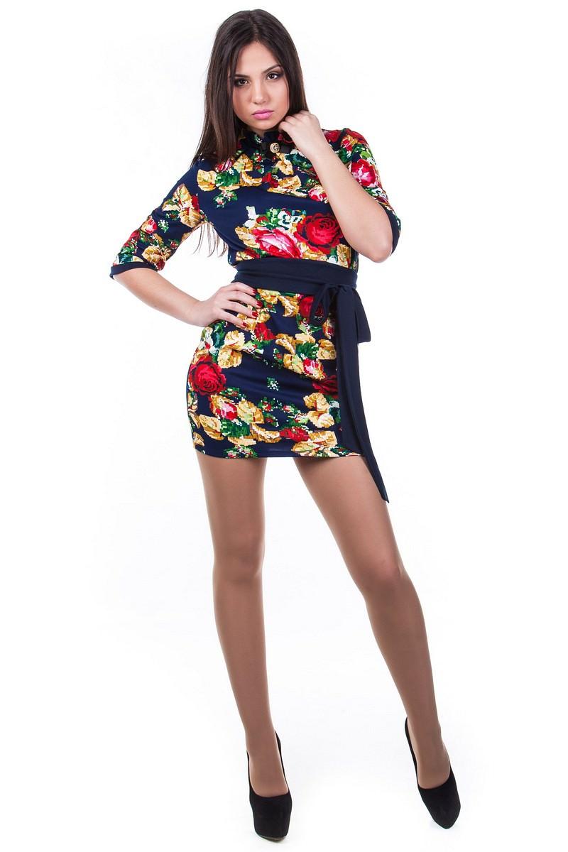 Оптовый интернет-магазин платьев Modus Платье Элегия вышивка
