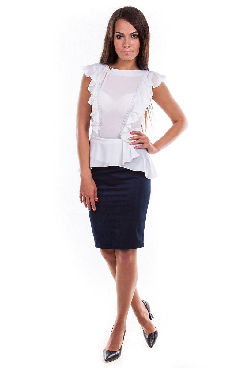 Белые деловые блузки доставка