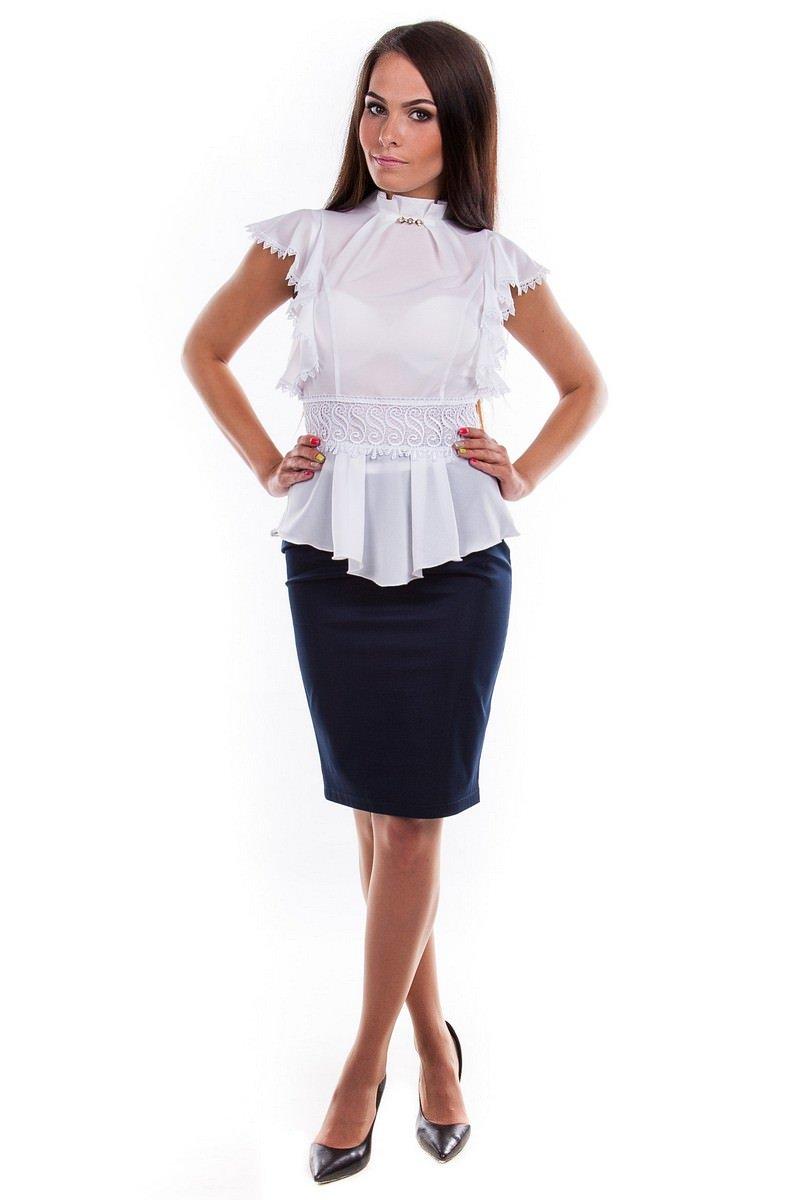 Оптом офисные блузы Modus Блуза Эльвира
