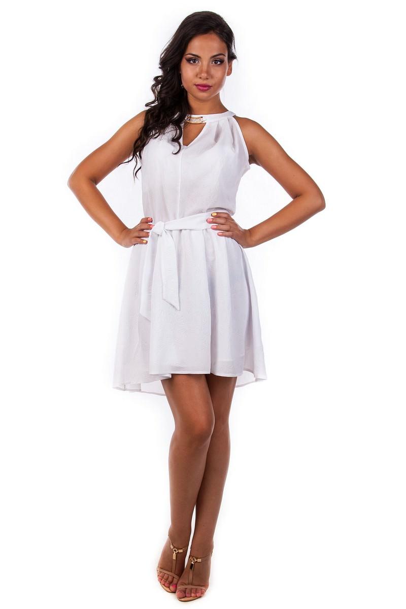 Женская одежда оптом от производителя Платье Камалия тесненный