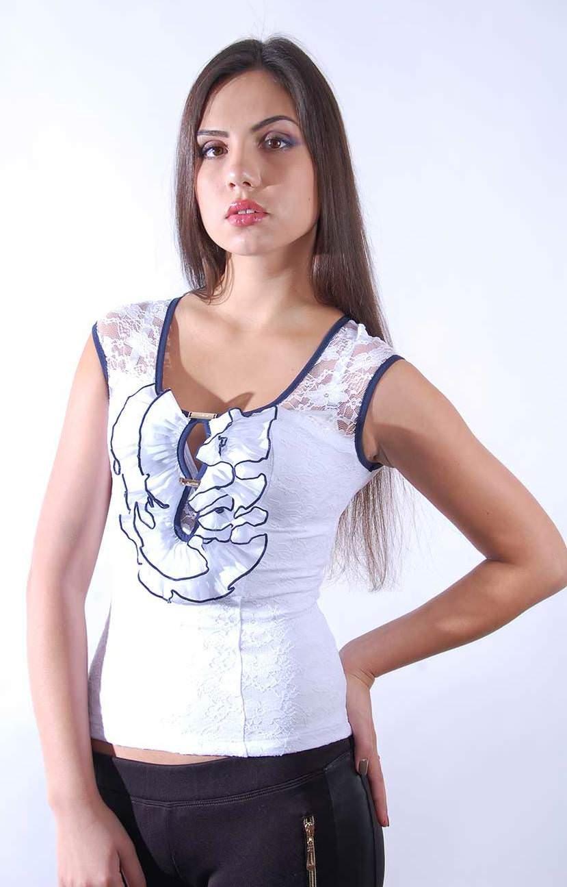 Женские блузки оптом от производителя Блуза Дымка