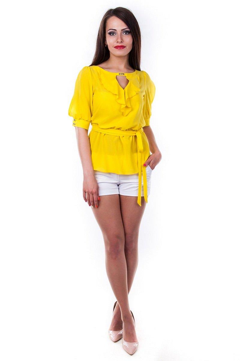 Оптом офисные блузы Modus Блуза Лена креп