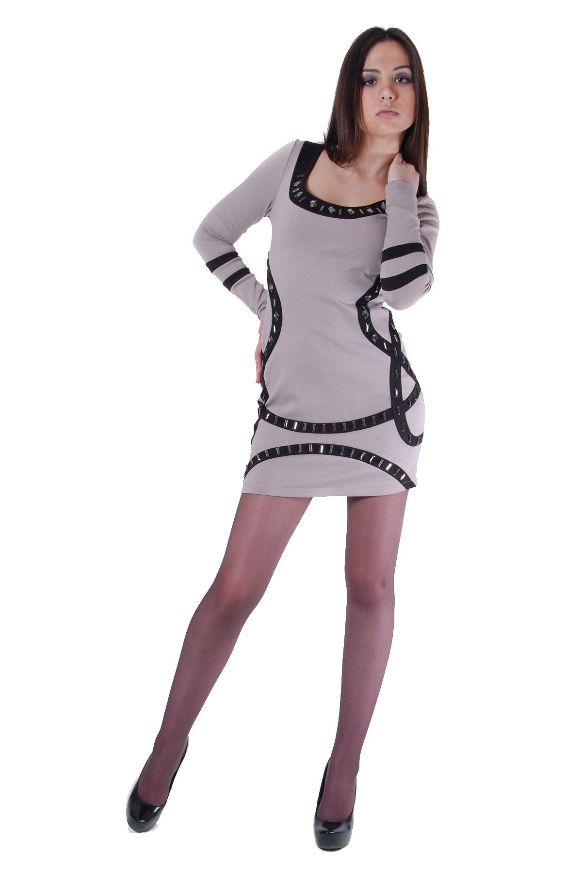 Платья трикотажные оптом от производителя Платье Сорблазн