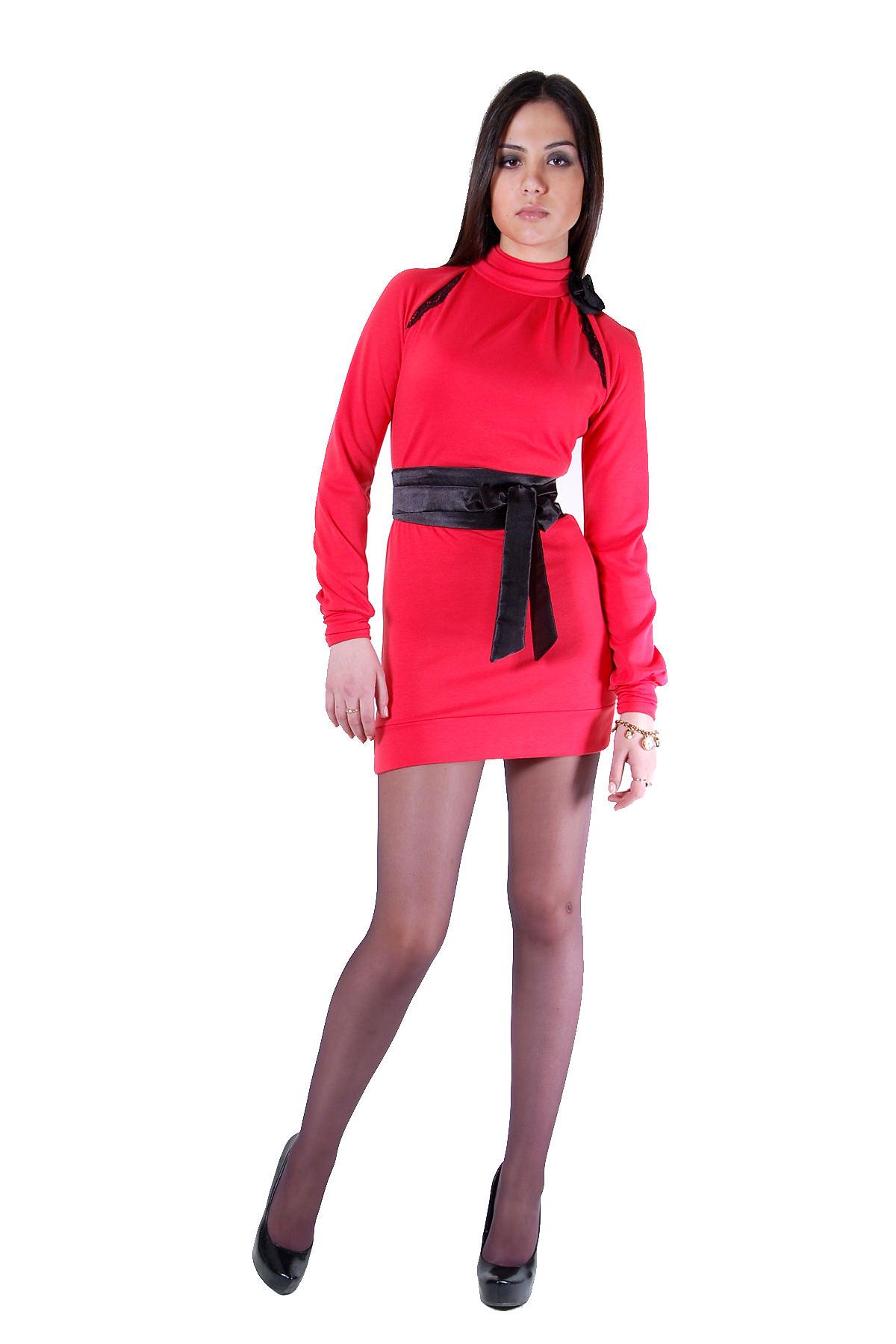 Платья трикотажные оптом от производителя Платье Лесли