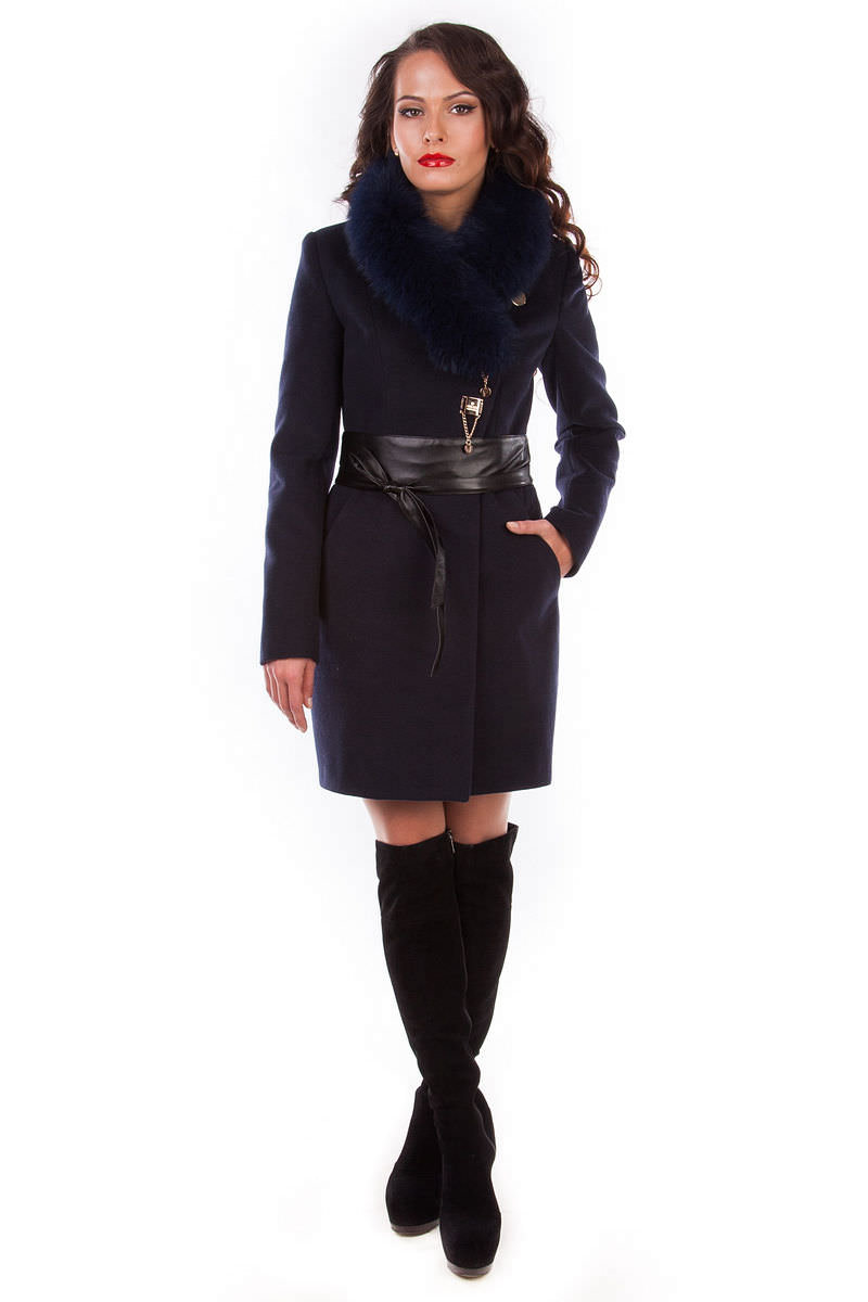 Модус женская одежда оптом недорого Пальто Магия песец турция элит
