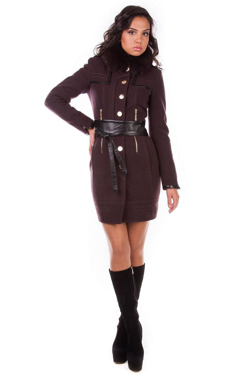 Пальто оптом от производителя Modus Пальто Марсель песец