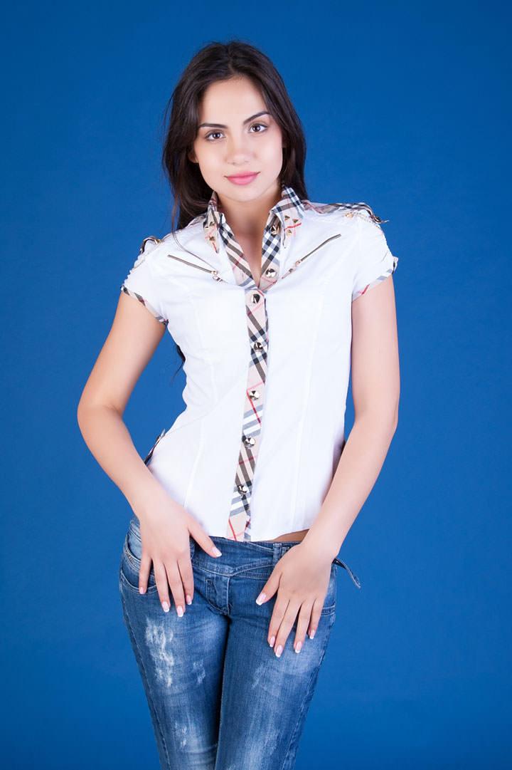 Школьные блузы оптом от производителя Блуза Ассоль