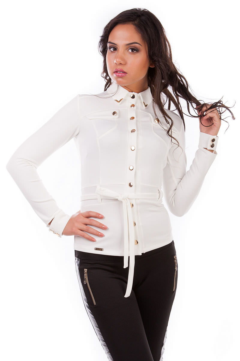 Купить женские кофточки оптом Блуза Пэнни